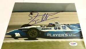 Jacques Villeneuve signed 8x10 Photo PSA Autograph Indy 500 Formula One CART