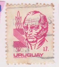 (UGA-111) 1980 Uruguay N$ 7. red ARTIGAS (CH)
