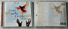 GREAT BLACK GOSPEL MUSIC - Albertina Walker, James Cleveland,... DO-CD TOP