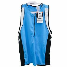 Pearl Izumi Bike Tri Singlet XL XXL Men Cycling Sport ELITE Triathalon Blue