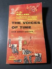 Vintage Science Fiction Paperback : The Voices of Time & Other Stories / Ballard
