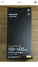 Panasonic H-RS100400E 100-400mm f/4.0-6.3 Lens - M43 plus Neoprene lens cover