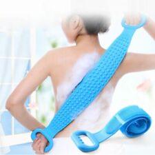Silicone Bath Brush Back Scrub Towels Rubbing Body Massage Shower Skin Shower Br