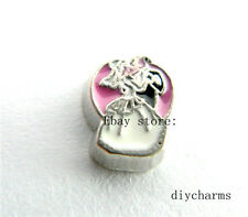 10pcs FC1005 Wedding Floating Charms Fit Memory Living Locket Free Shipping