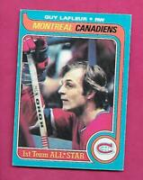 1979-80 OPC # 200 CANADIENS GUY LAFLEUR AS EX-MT CARD (INV# C8712)