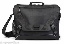"Vertex TSA / Check-in Friendly 17"" Laptop / MacBook Pro Black Messenger Bag -New"