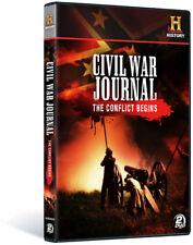 Civil War Journal: The Conflict Begins [New DVD]
