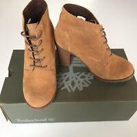 NWT Timberland Women's Tillston High Heel Chukka Boots Wheat A1KJ6 Black A1HTT