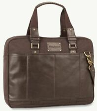 Tommy Bahama Tobago Briefcase - Chocolate Brown NEW W/TAG