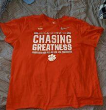 e621efa6 Nike Clemson Tigers T-Shirt CFP Chasing Greatness Adult Size xxl NCAA  football