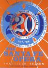 Robert Indiana Original Serigraph / Screenprint Santa Fe Opera 1976 Collectibe