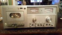 Vintage Harman / Kardon hk 2500 Cassette Deck As-Is