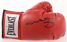 Sugar Ray Leonard Signed Boxing Glove Beckett BAS Witnessed