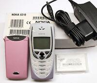 NOKIA 8310 NHM-7 RETRO HANDY INFRAROT WAP HSCSD PINK ROSA OHNE SIMLOCK SWAP NEU
