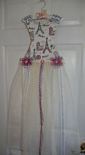 accessory eiffel tower dress holder hair clips and hair bands