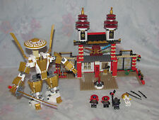 LEGO Ninjago 70505 Temple of Light Set - Figures, Temple, Not Complete