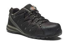 Dickies Hombre Tiber Zapatillas de seguridad negro/azul marino Varios Talla