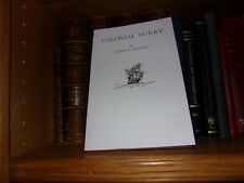 Colonial Surry Virginia Genealogy Book