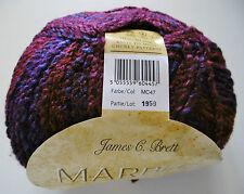 James C Brett Marble chunky Knitting Wool / Yarn 1 X 200g ball MC47