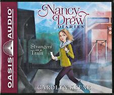 NEW Nancy Drew Diaries Strangers on a Train Carolyn Keene Audio Book 2 Volume