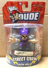 Tech Deck Dudes Street Crew #046 Willy personnage toy Nº 2009 NOUVEAU