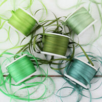 100/% Pure Silk 2mm Silk Ribbon Set Blue Shades Five Spool Collection
