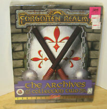 PC Forgotten Realms The Archives Collection Two Big Box Edition Factory Sealed!