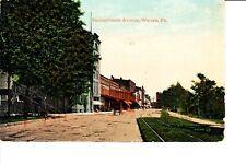 Warren, PA  Pennsylvania Avenue 1911 R.P.O.