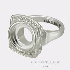 Authentic Kameleon Sterling Silver Entourage Ring Size 8  KR057 #8