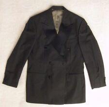 "Hugo Boss Double Breasted Silk / Wool / Mohair Tuxedo Men's 40"" Jacket 32"" Pant"