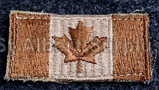 CANADIAN ARMY CANADA FLAG BADGE - AR ARID REGION / DESERT - NEW - 01VC