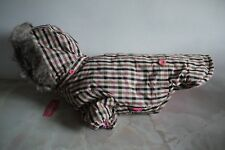 """Pinkaholic New York Quilted Dog Coat Size - XL ( 15"""" length )"""