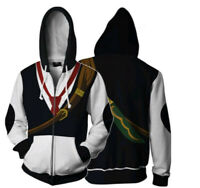 The Seven Deadly Sins Dragon's Sin of Wrath Meliodas Cosplay Hoodie Jacket Coat