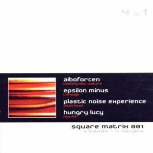 SQUARE MATRIX 1 CD Implant PLASTIC NOISE EXPERIENCE Aïboforcen