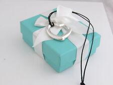 Tiffany & Co Silver Peretti Large Open Heart Necklace Box Included