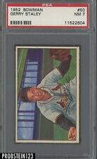 1952 Bowman SETBREAK #50 Gerry Staley St. Louis Cardinals PSA 7 NM