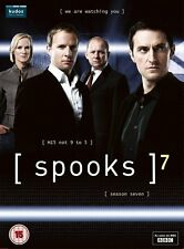 Spooks - Series 7 [DVD] Richard Armitage, Peter Firth Brand New and Sealed
