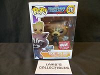 Marvel Collector Corps Guardians of the Galaxy Vol 2 Rocket with groot bobble