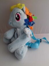 MY LITTLE PONY light blue backpack, never used.  FAST POSTAGE