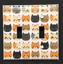 Cats Light Switch Cover Plate Faces Kitty Cat Kitten Crazy Cat Lady