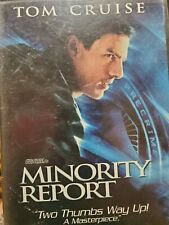 Minority Report 2-Disc Dvd Set Tom Cruise