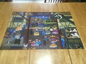 DOE SEE DOE ~ 1000 PC. PUZZLE FROM ROSEART ~ ART BY HERONIM ~ COMPLETE