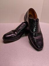 Allen Edmonds Byron Cap Toe Oxford Leather Dress Shoes - 10 E