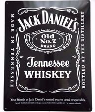 JACK DANIELS DELUXE 3D EFFECT METAL / TIN SIGN 12.5 INCH X 16 INCH