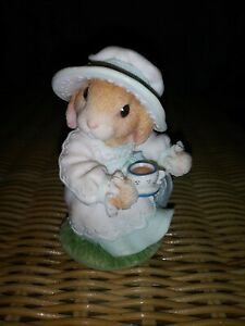 "My Blushing Bunnies Daisy Hare ""Tea And Friendship Hit The Spot"" 351040..."