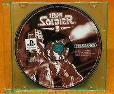 IRON SOLDIER 3 PS1 😎AUSSIE SELLER😎 (PLAYSTATION ONE) DISC ONLY~FAST POST !!!