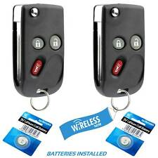 2 Car Flip Key Keyless Fob For 2002 2003 2004 2005 2006 2007 2008 2009 Gmc Envoy (Fits: More than one vehicle)