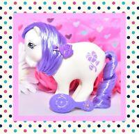 ❤️My Little Pony MLP G1 Vtg 1982 February Violet Birthflower Ponies Mail Order❤️