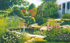"Blackburn ""DOC'S POND"" Backyard Garden 750 Pcs Pieces BOXLESS Jigsaw Puzzle 100%"