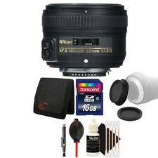 Nikon AF-S NIKKOR 50mm f/1.8G Lens and Accessory Kit For Nikon D7100 , D7200